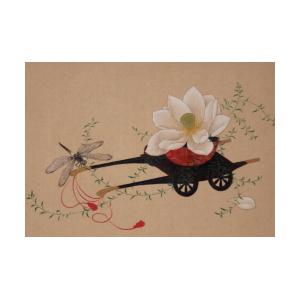 130726森本愛子_蓮、蜻蛉、柳