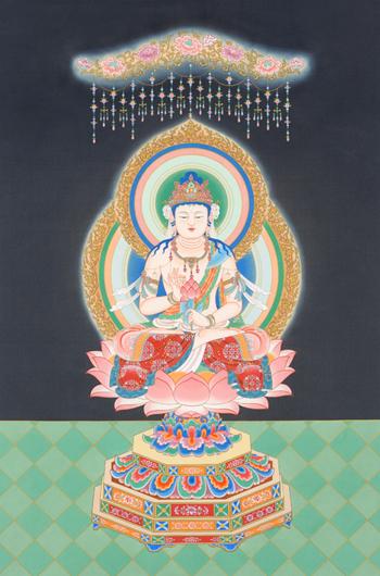 猪飼 一之「聖観自在菩薩像」