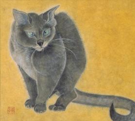 三浦幸子 巻物になった猫