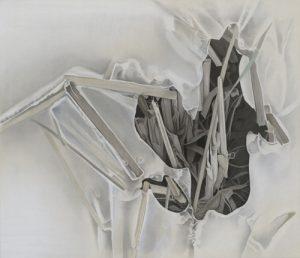 絹に描く1 及川聡子展「薄氷」