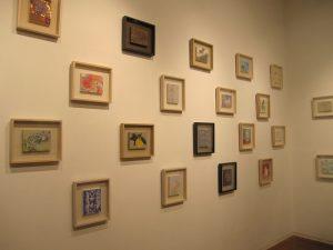 18×14センチの絵画展