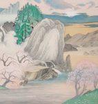 絹に描く3 山下和也展